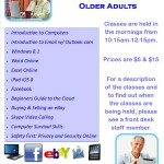 Computer Classes Spring 2015